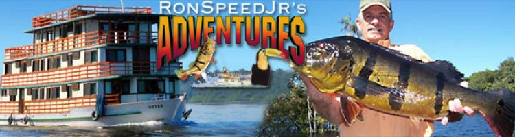 Ron Speed Jrs Adventures for Amazon Peacock Bass Fishing